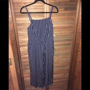 Pin striped jumper